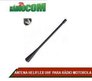 ANTENA HELIFLEX UHF PARA RÁDIO MOTOROLA EP450