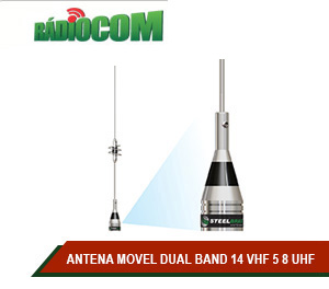 ANTENA MOVEL DUAL BAND 14 VHF 5 8 UHF