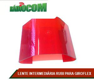 LENTE INTERMEDIÁRIA RUBI PARA GIROFLEX