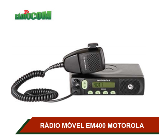 RÁDIO MÓVEL MOTOROLA EM400